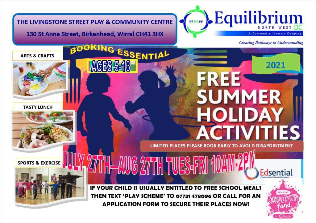 Equilibrium North West CIC Summer Play Scheme